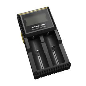NITECORE Ladegerät digital D2 oplader zwart